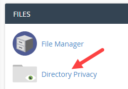 Directory Privacy icon